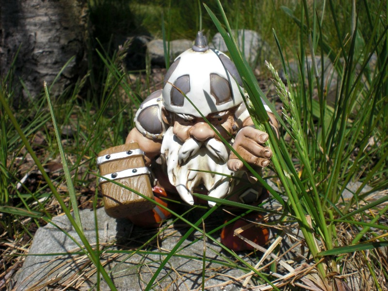 Battle Axe Garden Gnome