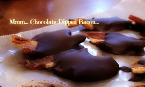 Chocolate-Dipped Bacon