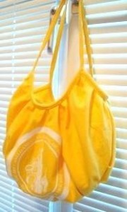 craftster recycled tshirt tote