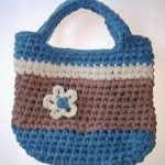 myrecycledbags crochet tote